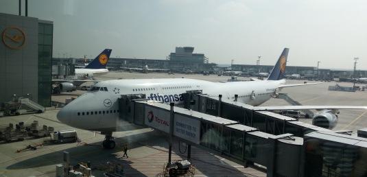 Unser Flieger nach Mexiko Stadt