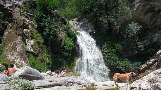 Der obere Wasserfall